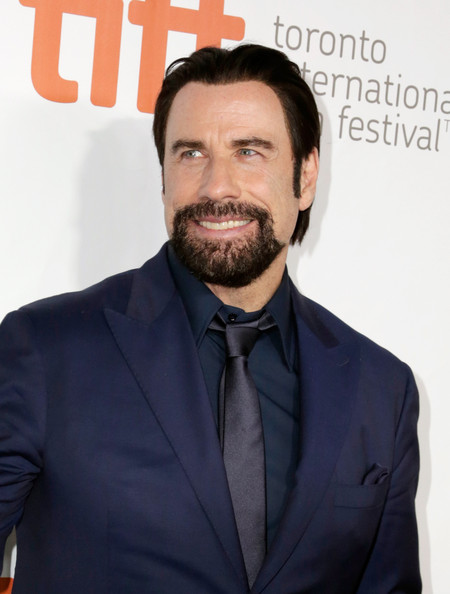 """Actor John Travolta attends """"The Forger"""" premiere during the 2014 Toronto International Film Festival at Roy Thomson Hall on September 12, 2014 in Toronto, Canada"""