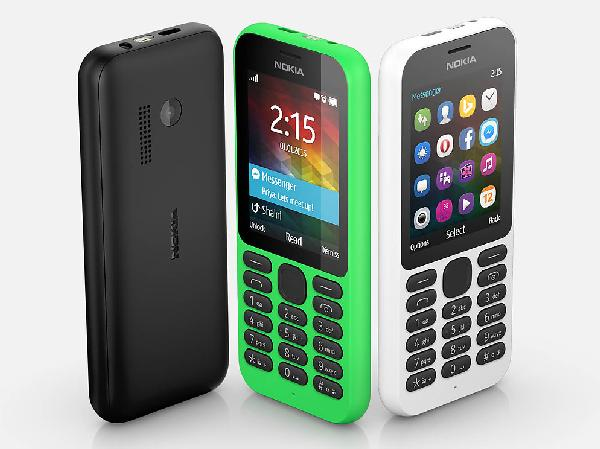 Nokia 215 (front/back)