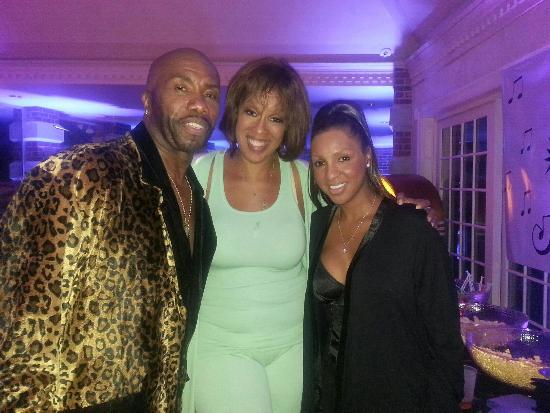 Paul Anthony, Gayle King, Paul Anthony's wife Michelle