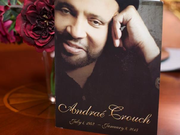 andrae crouch funeral photo