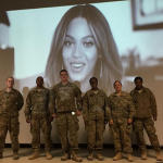 Beyonce Surprises Troops During Screening of 'On the Run' (Watch)