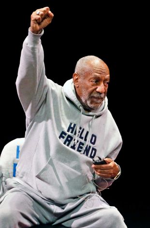 Comedian Bill Cosby performs at the Buell Theater in Denver, Saturday, Jan. 17, 2015.