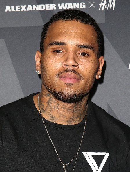 Recording artist Chris Brown attends the Alexander Wang x H&M Pre-Shop Party at H&M on November 5, 2014 in West Hollywood, California
