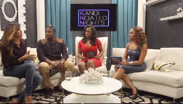 claudia jordan on kandi coated nights