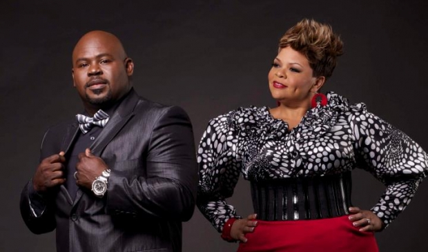 "David and Tamela Mann star in the new BET original series ""It's A Mann's World"" premieres January 14th 2015 at 9 pm, 8 Central on BET."