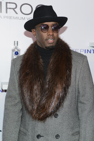 "Sean Diddy Combs attends CIROC ""Step Into The Circle"" Launch hosted by Sean Diddy Combs in Times Square on November 19, 2014 in New York City"