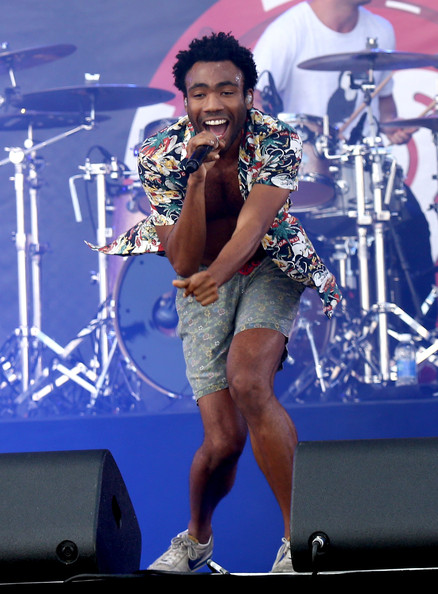 Actor/rapper Donald Glover (aka Childish Gambino) performs onstage during the 2014 iHeartRadio Music Festival Village on September 20, 2014 in Las Vegas, Nevada
