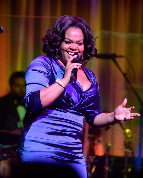 Singer Jill Scott performs onstage at the Tenth Annual UNICEF Snowflake Ball at Cipriani Wall Stree on December 2, 2014 in New York City