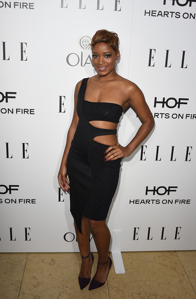 Actress Keke Palmer attends ELLE's Annual Women in Television Celebration on January 13, 2015 at Sunset Tower in West Hollywood, California. Presented by Hearts on Fire and Olay.