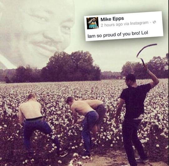 mike epps  (blk man whipping white slaves)