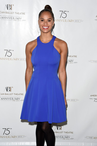 Ballerina Misty Copeland attends American Ballet Theatre's 75th Anniversary Celebration at Alice Tully Hall, Lincoln Center on January 21, 2015 in New York City
