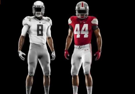 oregon & ohio state uniforms