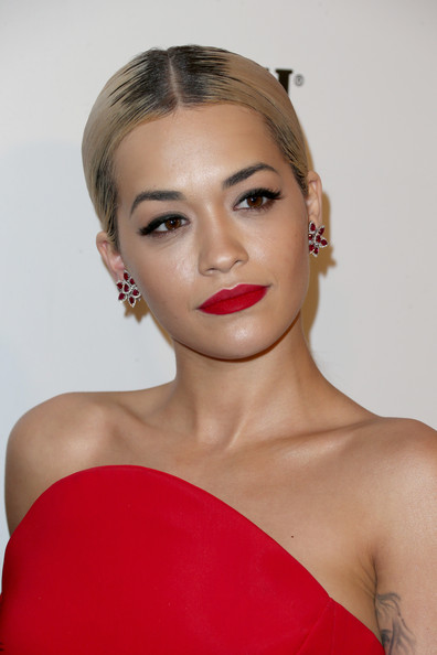 Singer Rita Ora attends the 2015 Weinstein Company and Netflix Golden Globes After Party at Robinsons May Lot on January 11, 2015 in Beverly Hills, California.