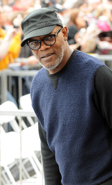 Actor Samuel L. Jackson attends the Hollywood Walk of Fame dedication for actor Christoph Waltz on December 1, 2014 in Hollywood, California