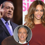 Jon Stewart Spars With Mike Huckabee Over Beyonce (Watch)