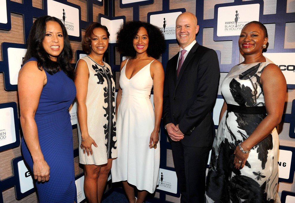 Michelle Ebanks (President, ESSENCE Communications), Shawn Thompson (Marketing Manager, Lincoln), Tracee Ellis Ross, Guest, Vanessa Bush (Editor in Chief, ESSENCE Magazine)