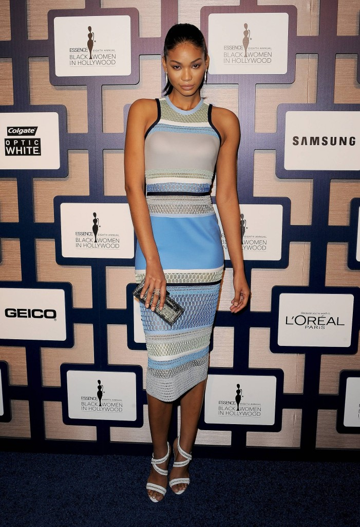Model Chanel Imam attends ESSENCE Black Women In Hollywood Luncheon presented by Lincoln.