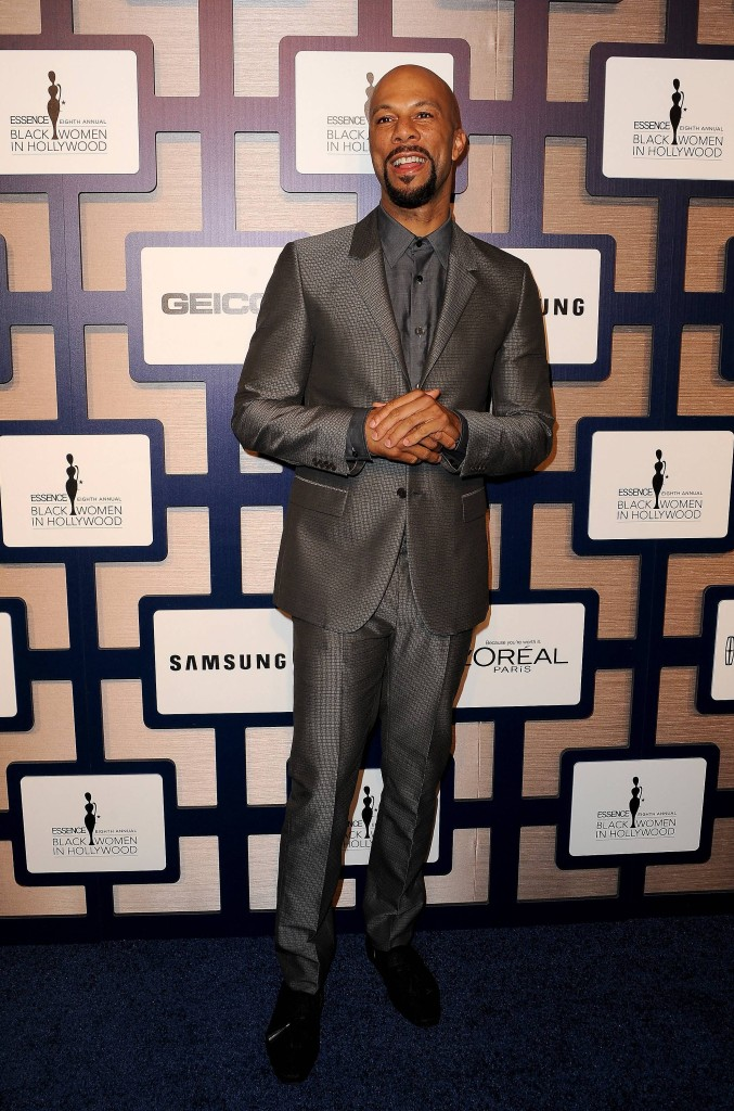 Academy Award nominee Common on the carpet at ESSENCE Black Women In Hollywood presented by Lincoln