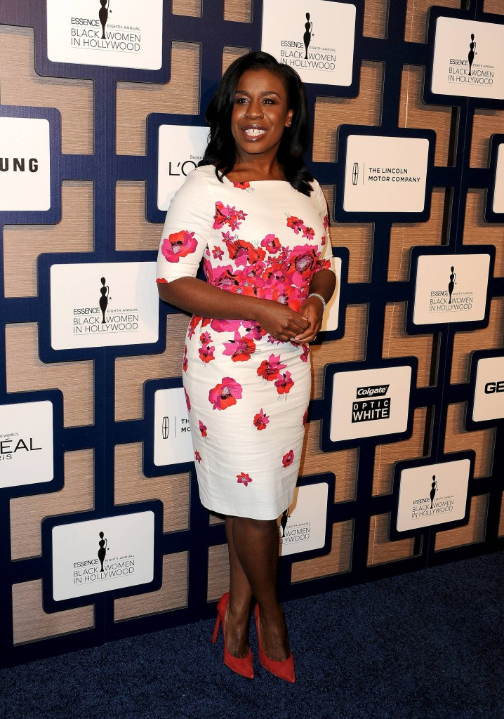 "Star of ""Orange Is The New Black"" Uzo Aduba on the red carpet at ESSENCE Black Women In Hollywood presented by Lincoln"