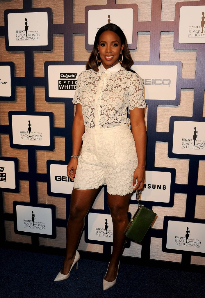 Kelly Rowland attends ESSENCE Black Women In Hollywood Luncheon presented by Lincoln
