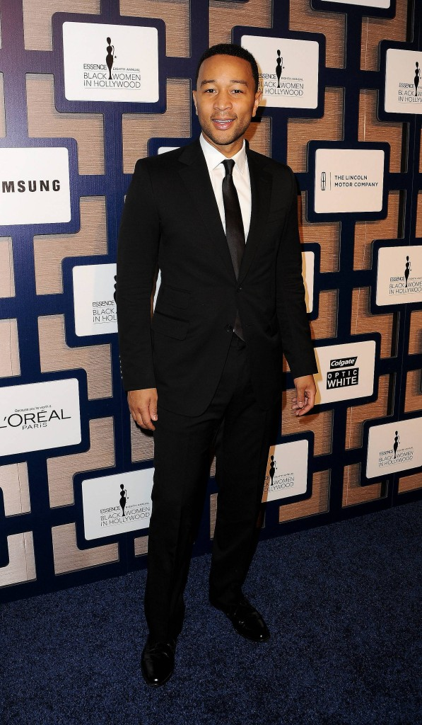 Academy Award nominee John Legend walks the carpet at ESSENCE Black Women In Hollywood Luncheon presented by Lincoln
