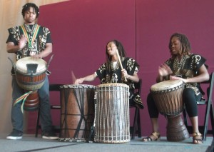 Traditional African Drumming: Photo Credit, Ricky Richardson