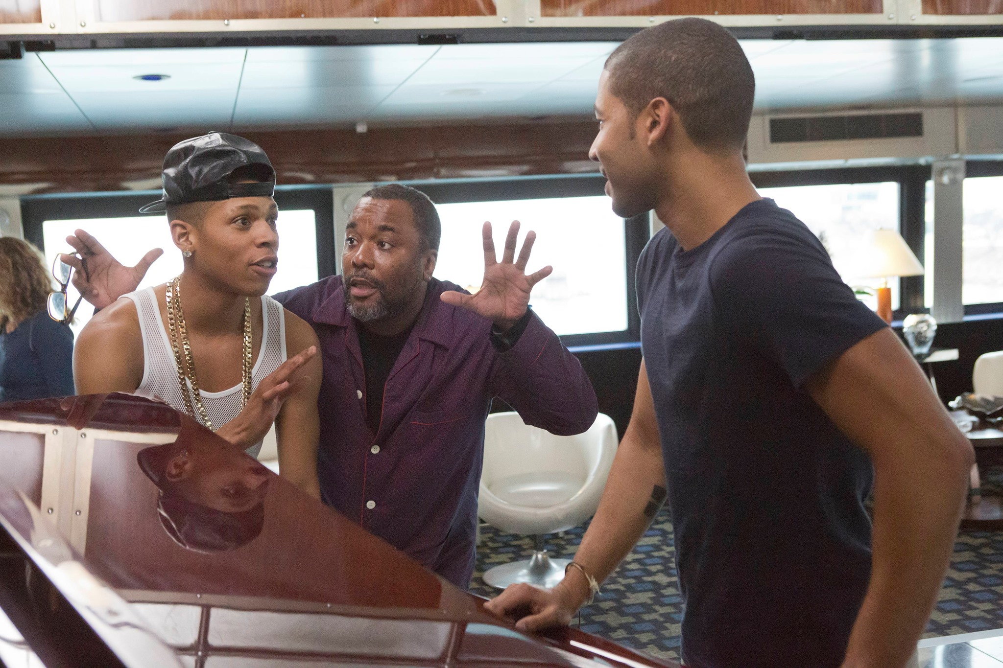 Empire - Lee Daniels, Bryshere Gray and Jussie Smollett