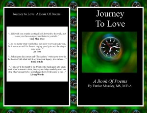 'Journey to Love: A Book of Poems' by The Pulse of Entertainment syndicated columnist Eunice Moseley.