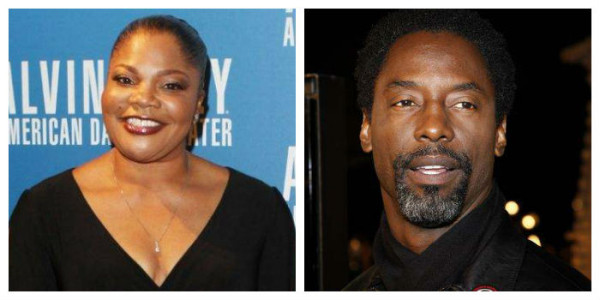 Mo'Nique and Isaiah Washington