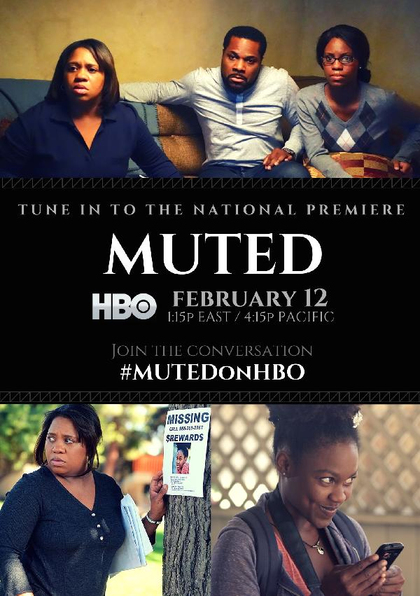 Muted (HBO flyer)