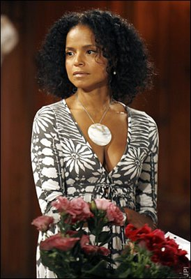 "Victoria Rowell as Drucilla Winters on ""The Young and the Restless"""