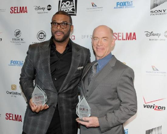 Tyler Perry and J.K. Simmons