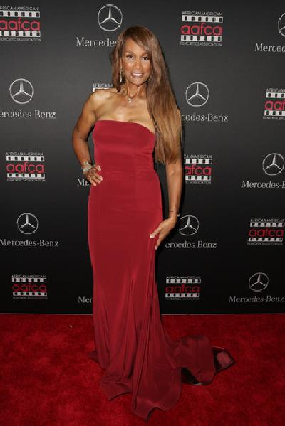 Beverly Johnson - AAFCA Mercedes Benz viewing party
