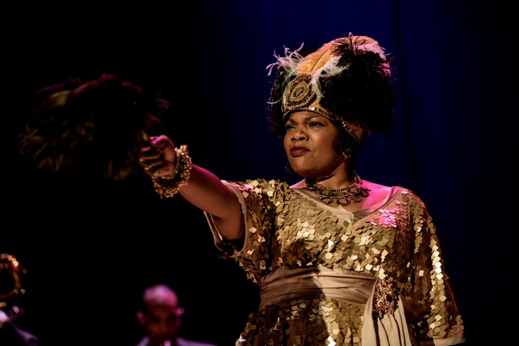 """Mo'Nique as Ma Rainey in HBO's """"Bessie"""""""