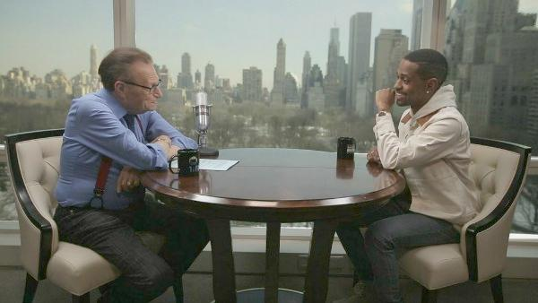 big sean & larry king