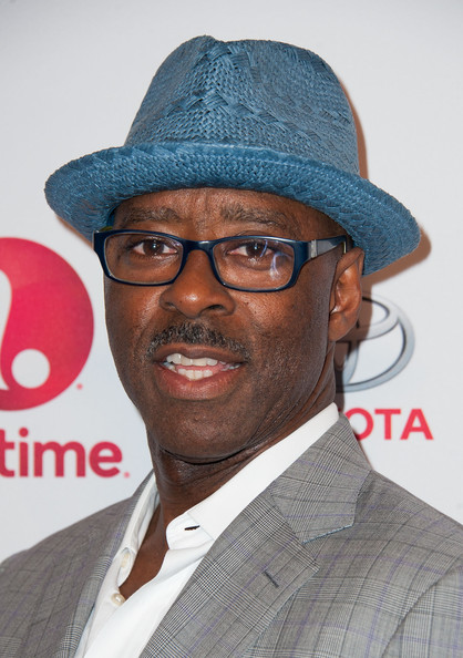"""Actor Courtney B. Vance arrives at the Premiere Of Lifetime's """"Whitney"""" at The Paley Center for Media on January 6, 2015 in Beverly Hills, California."""