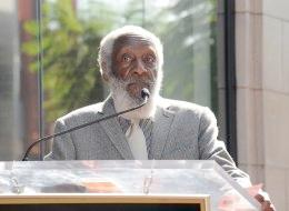 dick gregory - walk of fame