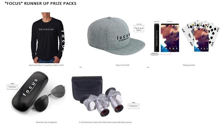 focus prize pack