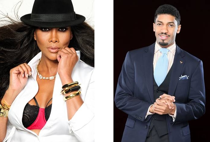Vivica A. Fox & Fonzworth Bentley