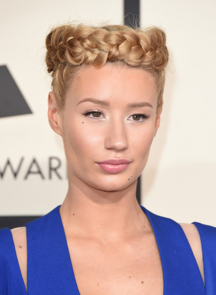 Singer Iggy Azalea attends The 57th Annual GRAMMY Awards at the STAPLES Center on February 8, 2015 in Los Angeles, California