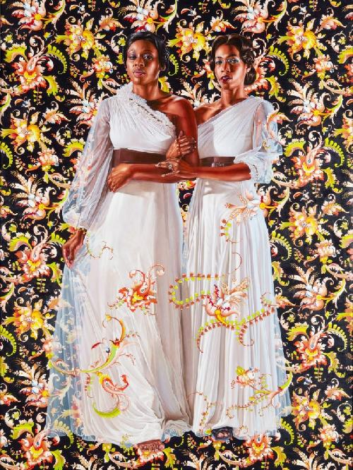kehinde wiley (two women - twins)