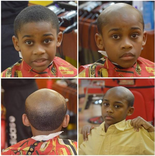 kids with old man haircuts