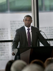 "David Harewood as David Estes, just before an explosion took his life in ""Homeland"""
