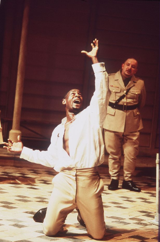 David Harewood in Shakespeare's Othello
