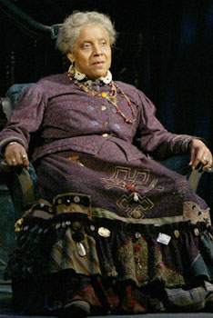 "Phylicia Rashad as Aunt Ester in August Wilson's ""Gem of the Ocean"""