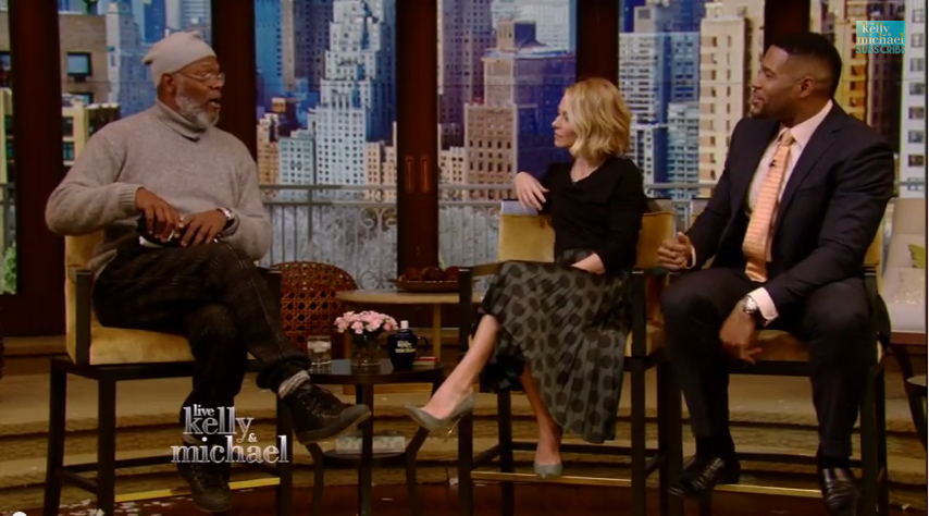 samuel l. jackson, michael and kelly