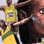 Our Roots: TAYO's 2015 Black History Month Cartoons: Usain Bolt
