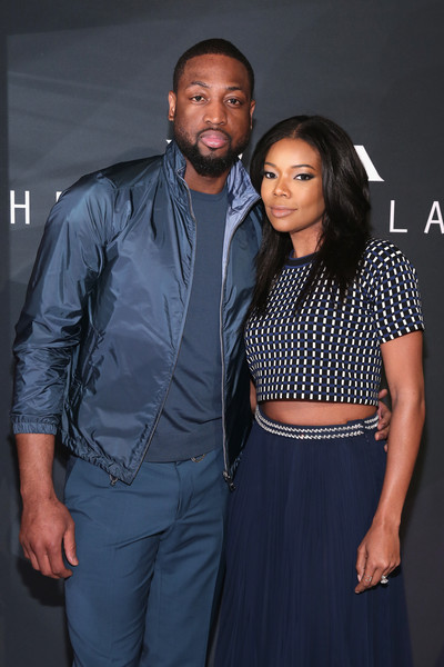 Dwyane Wade and Gabrielle Union attend Prada The Iconoclasts, New York 2015 on February 12, 2015 in New York City