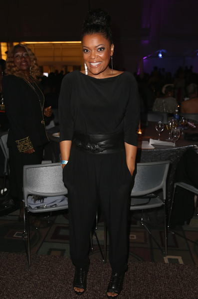 Actress Yvette Nicole Brown attends the after party for the 46th NAACP Image Awards presented by TV One at Pasadena Civic Auditorium on February 6, 2015 in Pasadena, California