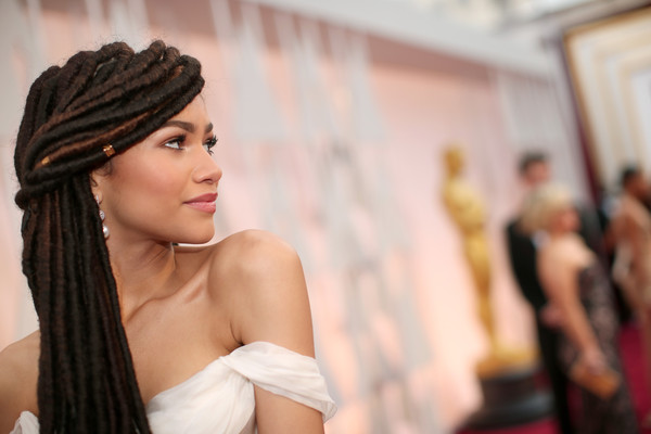 Actress Zendaya attends the 87th Annual Academy Awards at Hollywood & Highland Center on February 22, 2015 in Hollywood, California